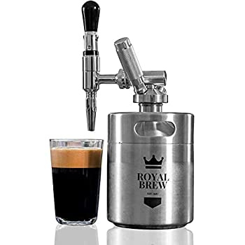 Image of Home and Kitchen Royal Brew Nitro Cold Brew Coffee Maker Home Keg Kit System