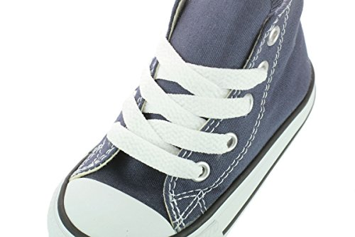 Converse Chuck Taylor All Star Hi Shoe - Toddlers' Navy, 8.0