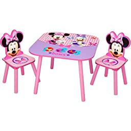 Disney - Minnie Mouse Activity Table and Chairs S
