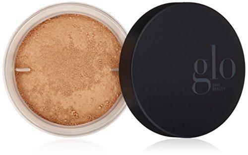 Glo Skin Beauty Loose Base - Beige Medium | Illuminating Loose Mineral Makeup Powder Foundation | Dewy Finish | 9 Shades