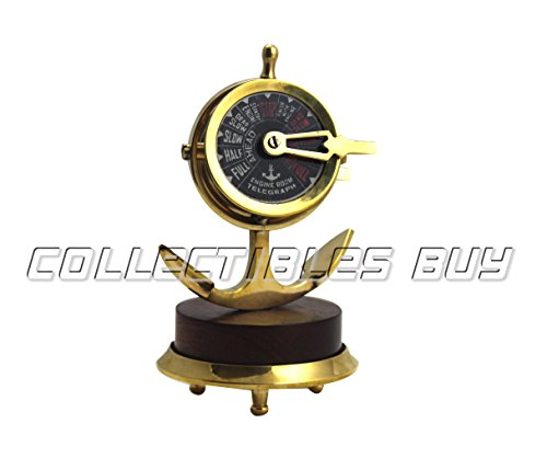 Royal Mini Nautical Brass Handmade Telegraph Vintage Maritime telescopes Collectible Item … (Brass) from Collectibles Buy
