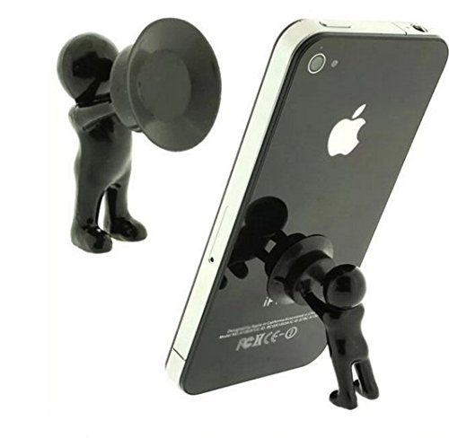 Mobile Phone Accessories Hercules phone holder villain Man Stand Supporter for Smartphone Plunger Sucker ()