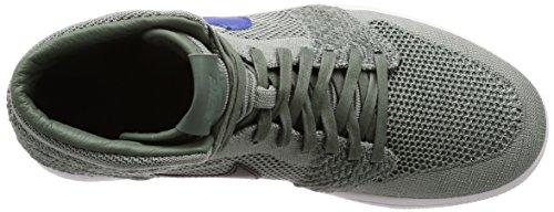 Flyknit 1 Tessuto Sneakers Uomo EU 41 Verde High Air Jordan Retro Nike TOxYRqx