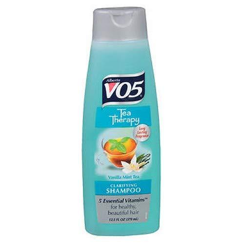 (VO5 Tea Therapy Revitalizing Shampoo, Vanilla Mint Tea 12.5 oz (Pack of 2))