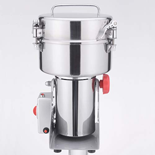DAMAI 2500g Electric Stainless Steel Grain Mill Dry Spice Grinder Coffee Beans Crusher Pulverizer HC-2500Y