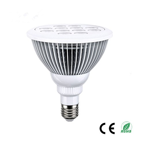 HJD LIGHT® LED grow light E27 12W plant grow bulbs for indoor plants Organic Gardening Hydroponics Greenhouse Systems Growing Lamps & Eco Friendly-Great for Growing Herbs Fruits Vegetables (white)