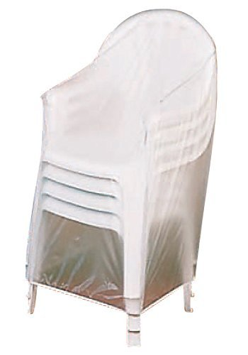 Miles Kimball Vinyl Outdoor Chair Cover (Plastic Chair Outdoor)