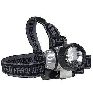 7 Led Headlamp, 4 operation modes, waterproof ()