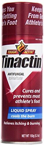 Tinactin Athlete Liquid Foot Spray, 5.3 oz (Tolnaftate Spray Liquid Foot Antifungal)