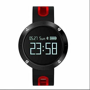... sédentaire, repetición - Tensiómetro electrónico, contador calorifique, podomètres, Deporte Reloj Fitness para iOS android-rouge: Amazon.es: Electrónica