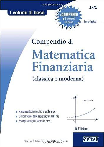 Compendio di Matematica Finanziaria