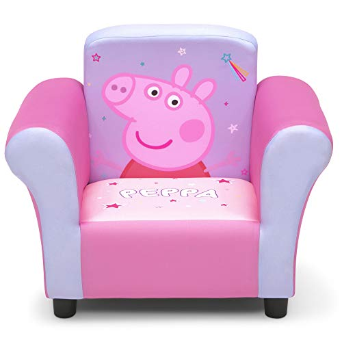 Delta Children Delta Children Upholstered Chair, Peppa Pig