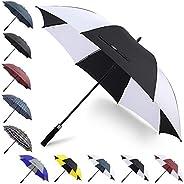 G4Free 62 Inch Automatic Open Large Golf Umbrella Windproof Sun Protection Oversize Waterproof Stick Umbrellas