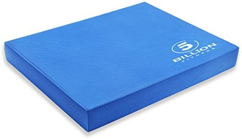 5BILLION Balance Pad Balance Board – Gym Exercise Mat Foam Balance Trainer – Wobble Cushion for Physical Therapy and Core Balance