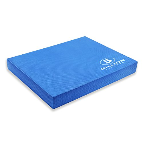 5BILLION Balance Pad & Balance Board - X-Large 49cm x 39cm x 6cm - Gym Exercise Mat & Foam Balance Trainer - Wobble Cushion for Physical Therapy and Core Balance
