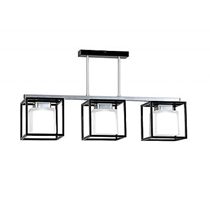 Lámpara de techo Pantallas de proyección Plaza diseño Bauhaus estilo modernista eb0037