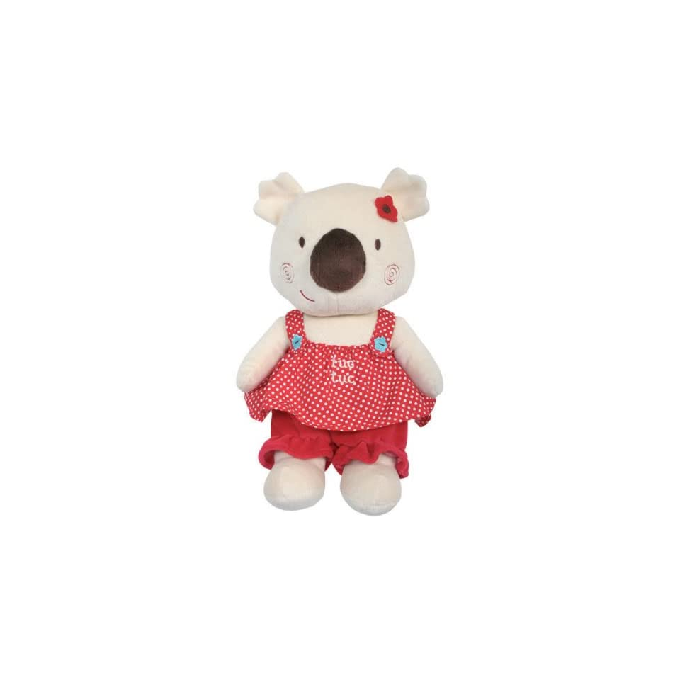 Tuc Tuc Koala Little Girl soft stuffed plush baby Toy. Koala Collection.