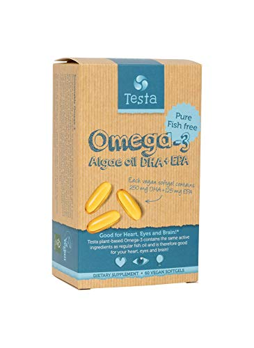 Testa Omega-3 – Cut out the middle-fish - much Healthier than Fish Oil...