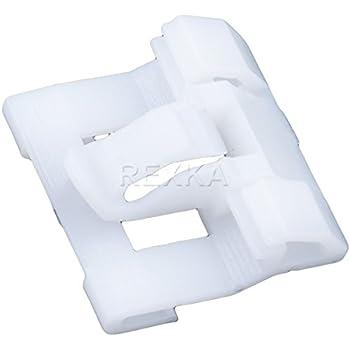 30 Window Belt Moulding Clip Wht Nylon Retainer Fastener 91510-SR3-003 For Honda