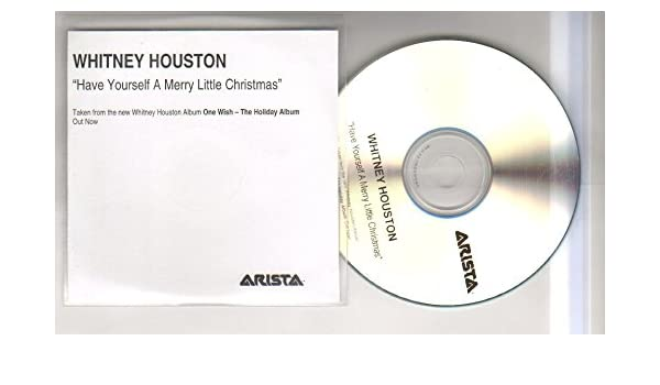 whitney houston whitney houston have yourself a merry little christmas 1 trk promo cd cd not vinyl amazoncom music - Whitney Houston Have Yourself A Merry Little Christmas