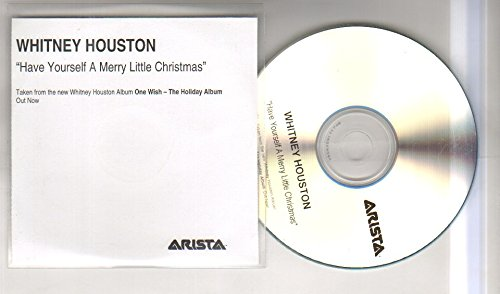 whitney houston have yourself a merry little christmas 1 trk promo cd cd - Whitney Houston Have Yourself A Merry Little Christmas