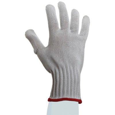 SHOWA Best Glove 917-07 Size 7 White D-FLEX PLUS UnDotted Style 7 gauge Medium Weight HPPE Yarn Cut Resistant Gloves With Seamless Knit Wrist (12/EA)
