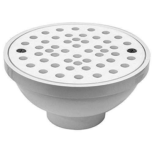 Dwv Floor Strainer - Oatey 43596 Bathroom Sink And Tub Drain Strainers, 2-Inch or 3-Inch, White