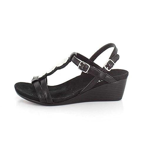 b323c6ee2826 80%OFF Vionic Womens Noleen T-Strap Wedge Sandal - appleshack.com.au