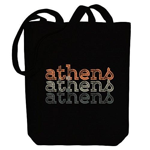 Idakoos Athens repeat retro - Kapitale - Bereich für Taschen
