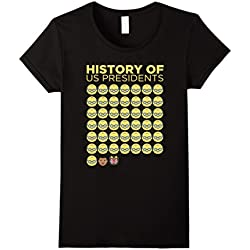 Womens Funny Anti Trump resist gift shirt for women and men Small Black