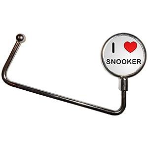 I Love Heart Snooker - Handtasche Tabelle Haken Kleiderbügel Taschenhalter