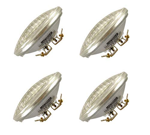 VSTAR LED PAR36 9W Bulb,12V 850-950lm(50W Halogen Equivalent),3000K Warm White,Water Resistant,for Landscape Light, Flood Light, Tractor Light,Truck Light (4 Pack) [並行輸入品] B07RBY18BZ