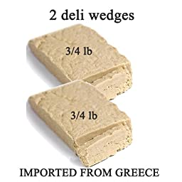 (2 pack) Deli fresh cut Vanilla Halva 2- 3/4 lb. wedges total 1.5lb