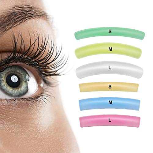 5d89d441ffd Libeauty Lash Lift Rods Pads Eyelash Perm Lift Silicone Pads 6 Size  Colorful Reusable Eyelash Perming
