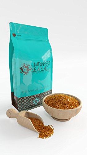 Brown Sugar amp Fig Mediterranean Sea Bath Salt Soak  5lb Bulk  Coarse Grain