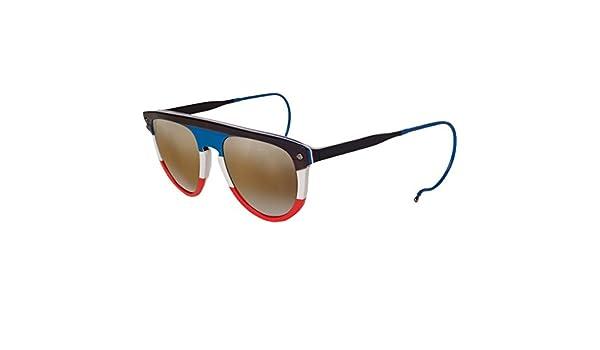 One Size Vuarnet VL 1508 Sunglasses Flag//Brown Lynx
