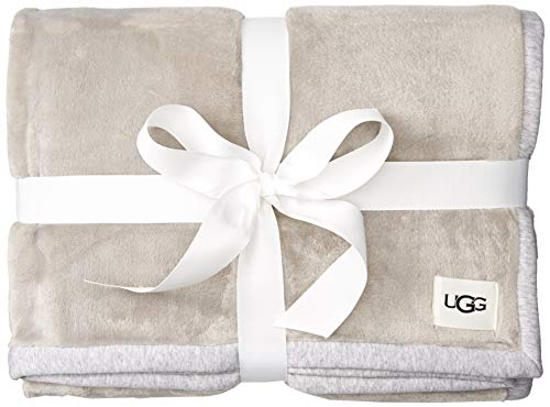 UGG Unisex-Adult's Duffield Throw II, seal heather, One Size