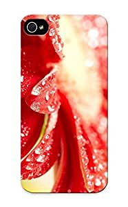 Freshmilk Series Skin Case Cover Ikey Case For Iphone 5/5s(Raindrops On Gerbera Petals)