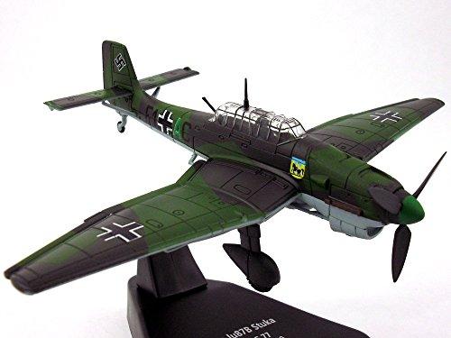 Junkers Ju-87 Stuka German Dive Bomber 1/72 Scale Diecast Metal ()