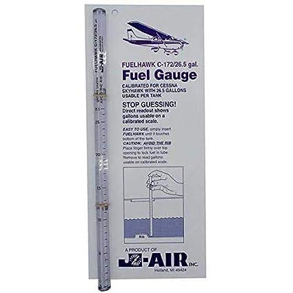 FuelHawk Fuel Gauges - Cessna 172 - 26 5 Gallon