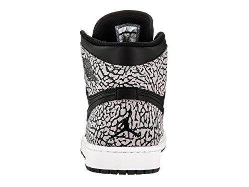Basketball 1 Jordan Grey Gym Men Black Red Shoes Nike Air Azul anthracite Black High s Retro cement p4Aqp0R