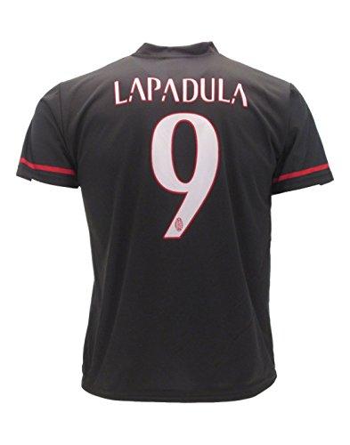 Camiseta Jersey Futbol Milan Lapadula 9 Replica Autorizado (L): Amazon.es: Deportes y aire libre