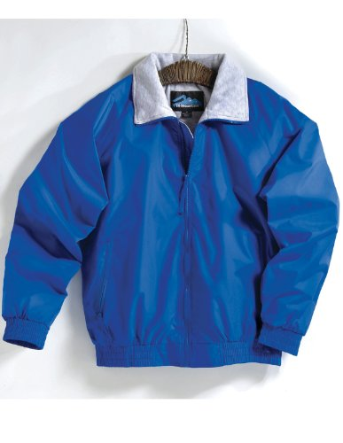 Tri Mountain 3400 Mens Clipper Water Resistant Jacket Royal L