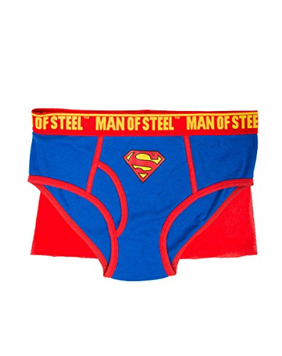 Briefly Stated Superman Caped Brief For Men Large