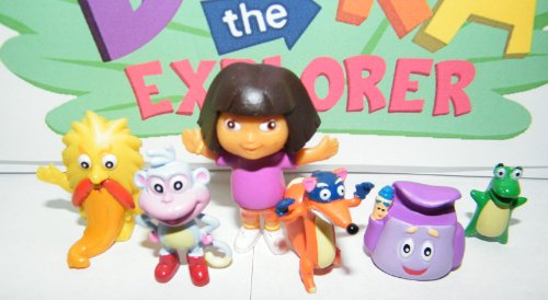 Toys For Grandparents House : Nickelodeon dora the explorer deluxe figure set toy