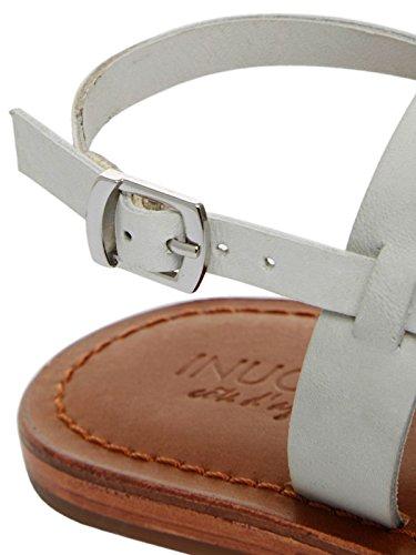 Inuovo - Sandalias de vestir de Cuero para mujer Weiß