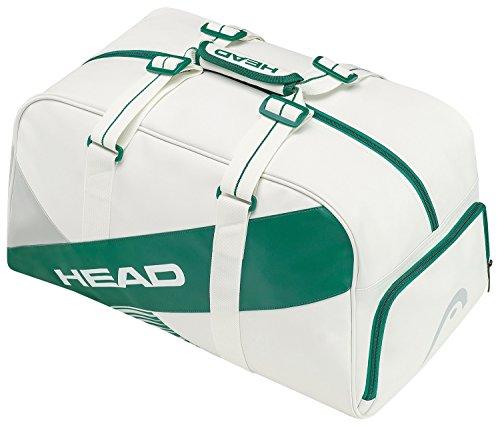 HEAD Uni 4 Majors Club Bag Wimbledon Sporttasche, Weiß, 68 x 40 x 20 cm