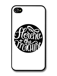 Florence + the Machine Black and White Circle Logo For Apple Iphone 5C Case Cover