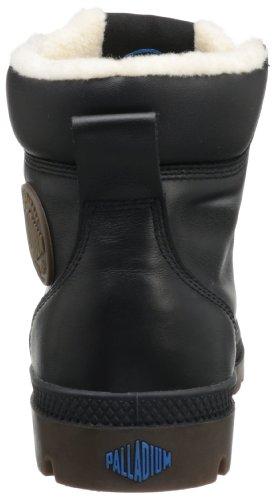 PalladiumPampa Sport Cuff WPS - botas y botines de tacón bajo Unisex adulto negro - Schwarz (Black/Dark Gum)