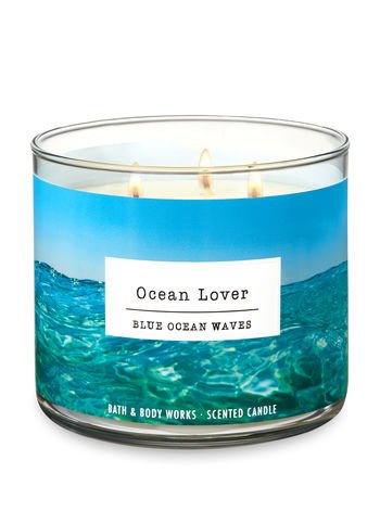White Barn Bath & Body Works 3 Wick Candle Ocean Lover ()